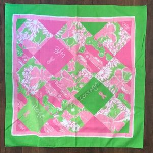 Lilly Pulitzer Ford Breast Cancer Scarf